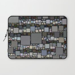 Retro Squared Pattern Laptop Sleeve