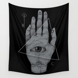 Witch Hand Wall Tapestry