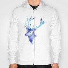 Blue Antlers Hoody