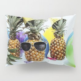 Pineapple Party Time Pillow Sham