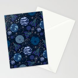 Astronaut's way Stationery Cards