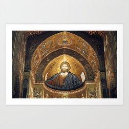 CHRISTUS PANTOKRATOR Art Print