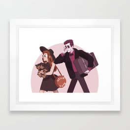 Cerberus the lap dog Framed Art Print
