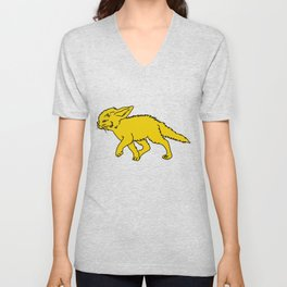 The Sly Fennec Fox Unisex V-Neck