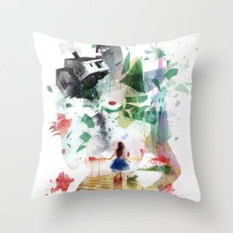 Not in Kansas Anymore v2 Throw Pillow