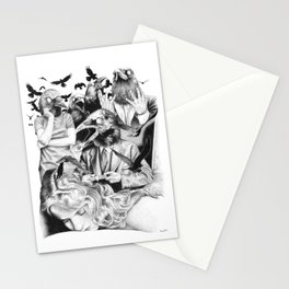 Ominous Farewell Stationery Cards