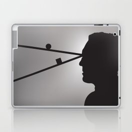 The Prisoner is Being Tested Laptop & iPad Skin