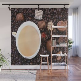 Coffee And Chocolate Delight Wall Mural