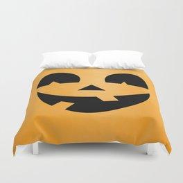 Silly Jack-O-Lantern Duvet Cover