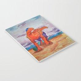 Beach Ball Dinosaur - Barney Notebook