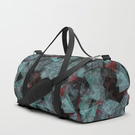 Triangle chaos Blood snowflakes Duffle Bag