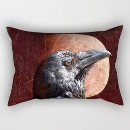 Crow Moon II Rectangular Pillow