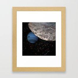 Dawn of a dream Framed Art Print