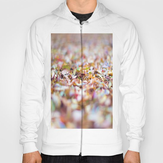 Summer Leaves Abstract Hoody