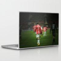 ronaldo Laptop & iPad Skins featuring Ronaldo by Shyam13