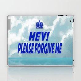 Hey Please Forgive Me Cloud Version Laptop & iPad Skin