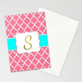 "Peanut Mila Baby with ""S"" Monogram Stationery Cards"