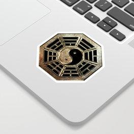 Yin Yang Bagua Sticker