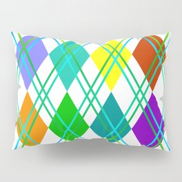Argyle Pillow Sham