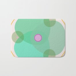 Happy leaves (big version) Bath Mat