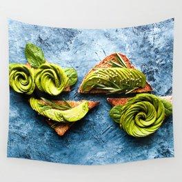 Avocado Foodie Art Wall Tapestry