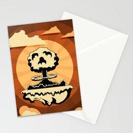 explosive migraine Stationery Cards
