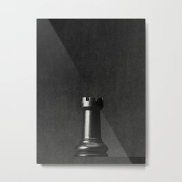 GAME OF THE THRONE / The Black Rook Metal Print