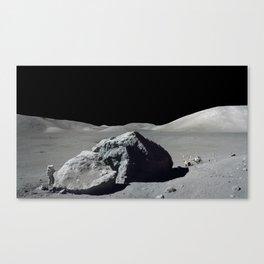 Apollo 17 - Astronaut Boulder Canvas Print