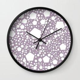 """Kalinka. """" Rose quartz"""" color Wall Clock"""