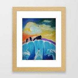 WILD HORIZONE Framed Art Print