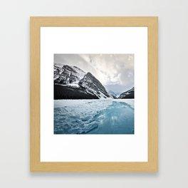 Frozen Louise Framed Art Print