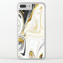 Metalsmith Latte Clear iPhone Case