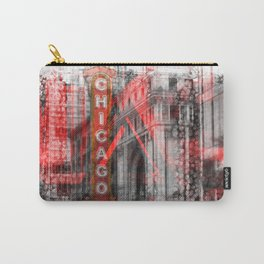 Chicago | Geometric Mix No. 4 Carry-All Pouch