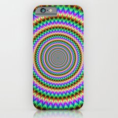 Psychedelic Circles Slim Case iPhone 6s