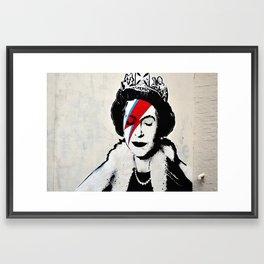 Banksy, Queen Framed Art Print