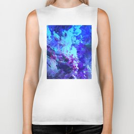 Misty Eyes of Tranquility Biker Tank