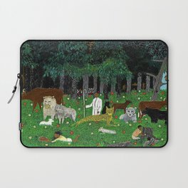1945 American American Masterpiece 'Holy Mountain III' by Horace Pippin Laptop Sleeve