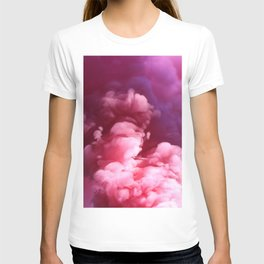 Pink Puff Cloud (Color) T-shirt