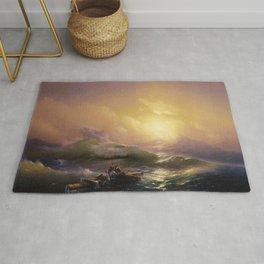 Ivan Aivazovsky - The Ninth Wave Rug
