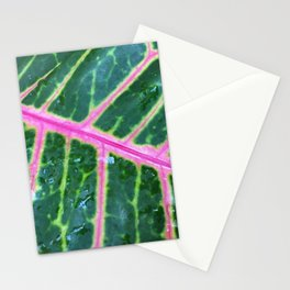 Nature Veins Stationery Cards