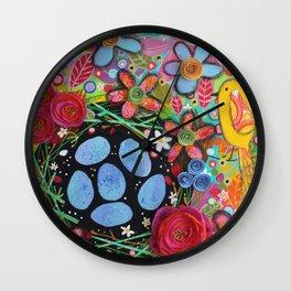 Birdsnest Wall Clock