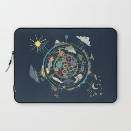 Running Like Clockworld Laptop Sleeve