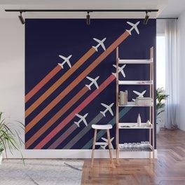 Aerial acrobat Wall Mural