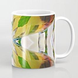 Mirrored Tea Leaves Coffee Mug
