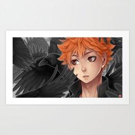 Haikyuu!! - baby crow Art Print