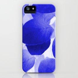 Bleu iPhone Case