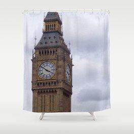 Golden Three Fifty Shower Curtain