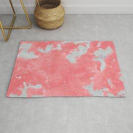 pink marble pattern Rug