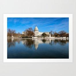 Capitol Building Art Print