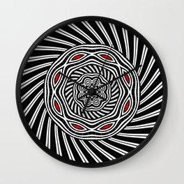 Geometric monochrome Wall Clock